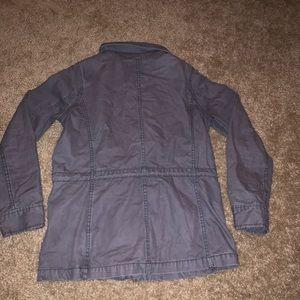 Madewell Jackets & Coats - NWOT Grey Madewell Fleet Utility Jacket